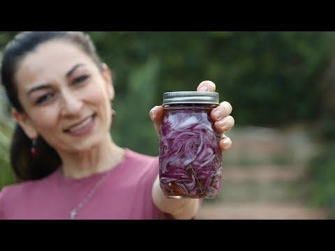 Как Мариновать Красный Лук - Отличная Закуска к Мясу - Рецепт от Эгине - Heghineh Cooking Show