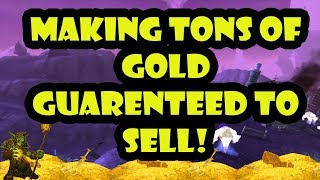 World Of Warcraft Gold Farm easiest way to make up to 100,000 gold an hour