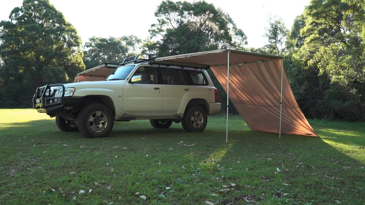 Image result for Adventure Kings Rear Awning - 1.4 x 2m