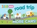 New Cars! Sago Mini Road Trip App for Kids