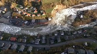 Severe floods destroy homes in western Norway - no comment