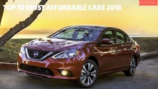 Top 10 Most Affordable Cars 2018 - Best Cars 2018 - Phi Hoang Channel.