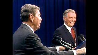 Dickerson's debate history: Reagan zings Mondale in 1984