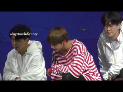 170526 BTS Sydney Lost taehyung  V focus