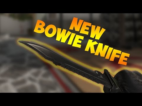 The NEW Bowie Knife Inspect & Animations!