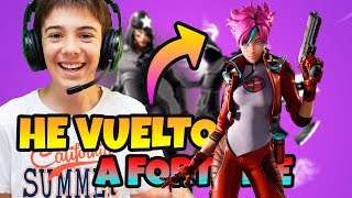 Ich habe RETURNED *FORTNITE 🔥 KAUFEN PACK SKINS