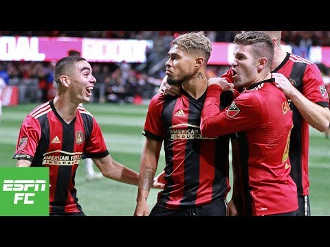 Atlanta United FC shuts out Red Bulls in first leg of Eastern Conference Finals | MLS Highlights