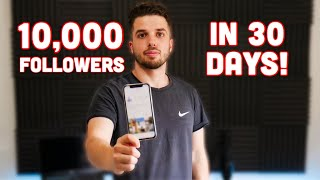 How To Get 10k Followers In 30 Days