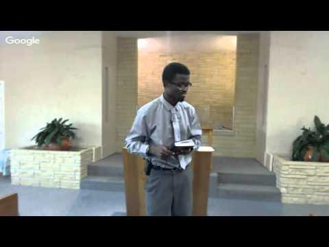 Psalms 57:1-11 Marcus L. Elliott Assistant Minister