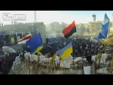 Ukrainian Revolution Of Dignity Euromaidan In Kiev Ukraine, Feb 15 2014