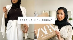 ZARA HAUL PART 1 | Spring Collection
