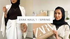 ZARA HAUL PART 1 | Spring Collection