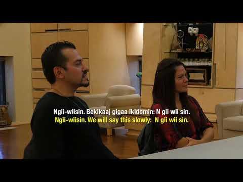 Learning Ojibwe Language Video Lesson #5