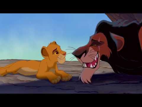 Король лев (The Lion King). Очень вольный перевод Кузнецова. Шрам и Симба.