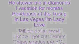 Trina- Million dollar girl with lyrics