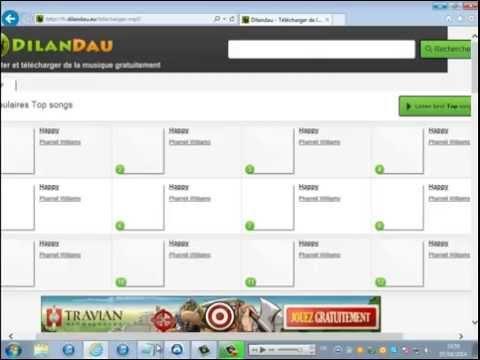 Tuto-comment telecharger des musique gratuit sur Dilandau