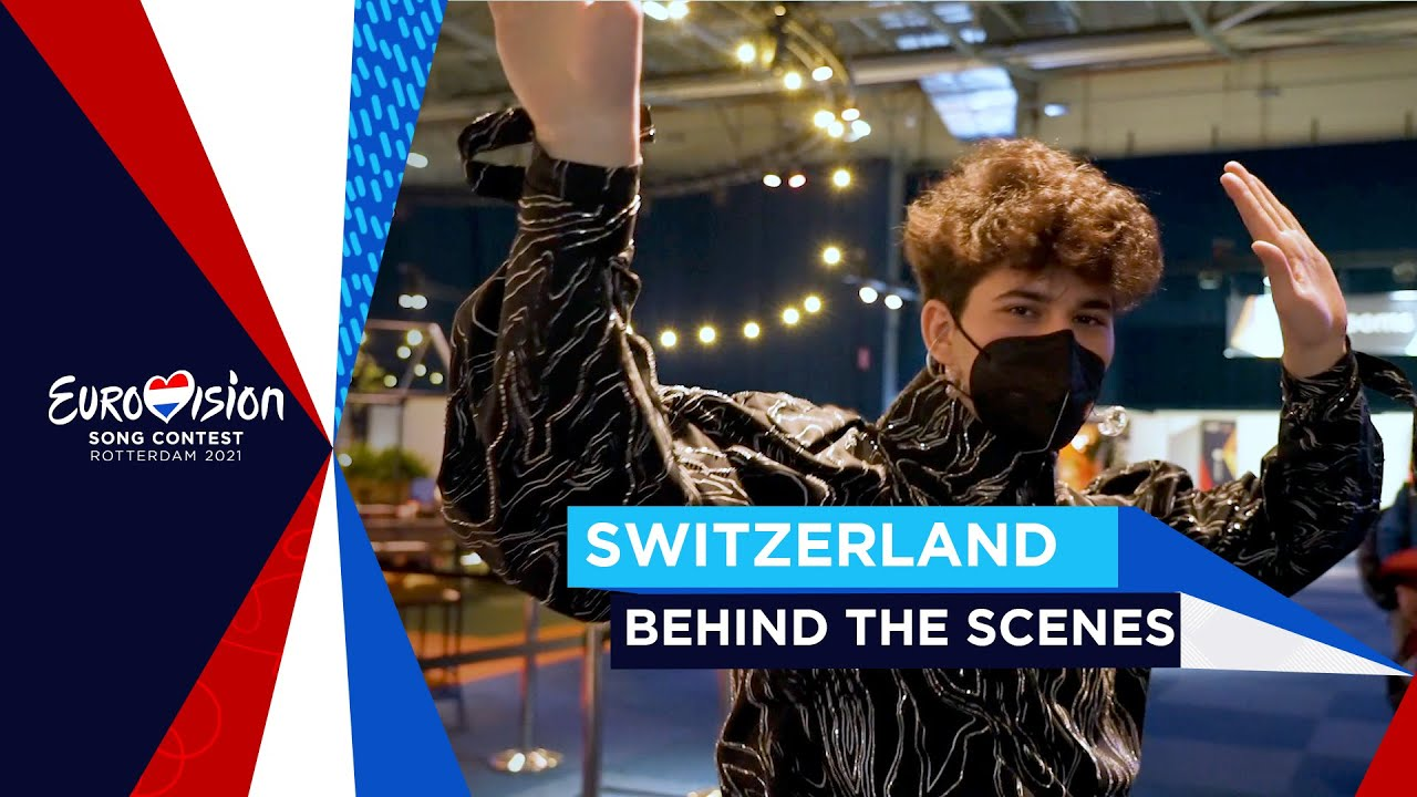 Behind the scenes of Gjon's Tears first rehearsal - Vlog - Switzerland 🇨🇭 - Eurovision