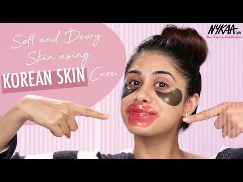 Step By Step Korean Night Time Skincare Routine Ft. Malvika Sitlani | Nykaa