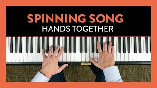 Spinning Song Hands Together- Piano Lesson 67 - Hoffman Academy