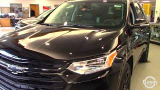 All New 2018 Chevrolet Traverse Redline Edition Review from Steve