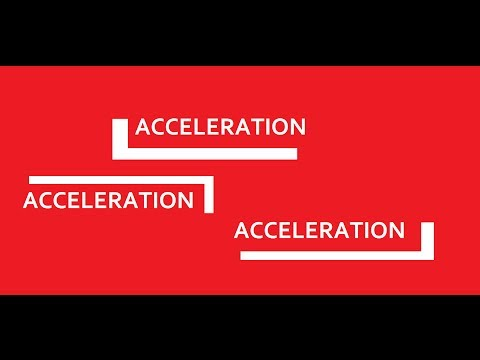 Basic Physics: What Is Acceleration?