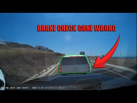 semi-trucks-and-cars-brake-checked---rage-or-insurance-scam-attempt?- -fail-compilation-2019-#11