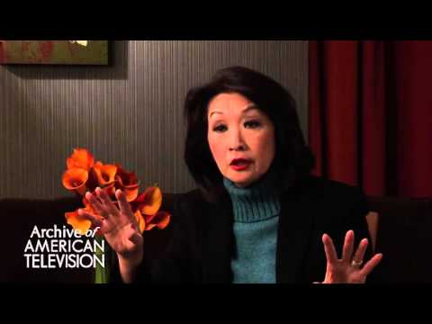 "Connie Chung discusses getting a ""get"" - EMMYTVLEGENDS.ORG"