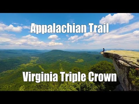 Virginia Triple Crown - McAfee Knob, Tinker Cliffs, Dragon's Tooth (AT, North Mountain Trail)