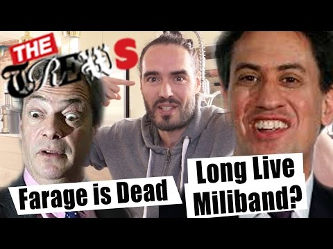 Farage Is Dead - Long Live Miliband? Russell Brand The Trews (E301)