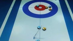 Curling Online Game AWESOME MATCH !!!