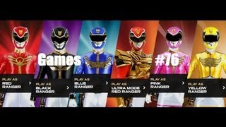 Games: Power Rangers Megafoce - Missions 1