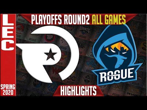 OG vs RGE Highlights ALL GAMES | LEC Spring 2020 Playoffs Round 2 | Origen vs Rogue
