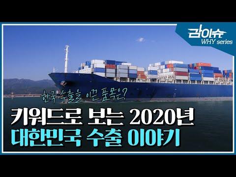 키워드로 보는 2020년 대한민국 수출 이야기 | 감이슈