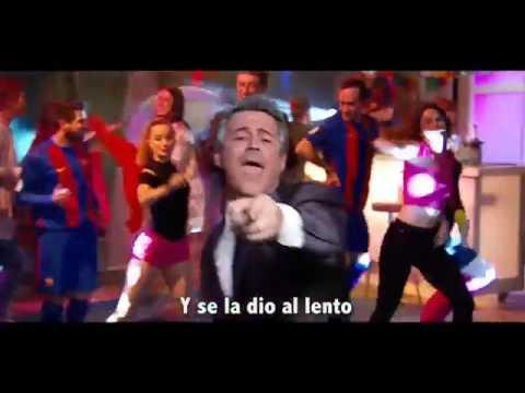 """El Madrid-Barça parodia de """"subeme la radio""""  crackovia"""