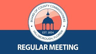 Board Of County Commissioners: Regular Meeting - 05.15.19