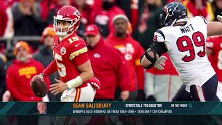 Sean Salisbury on the Calmness & Poise of Patrick Mahomes | The Dan Patrick Show | 1/13/20
