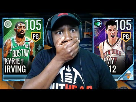 BEST CARDS EVER RELEASED?! NEW 105 OVR KYRIE & LIN! NBA Live Mobile 18 Gameplay Pack Opening Ep. 69