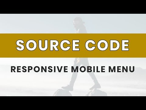 Responsive mobile menu ( source code )