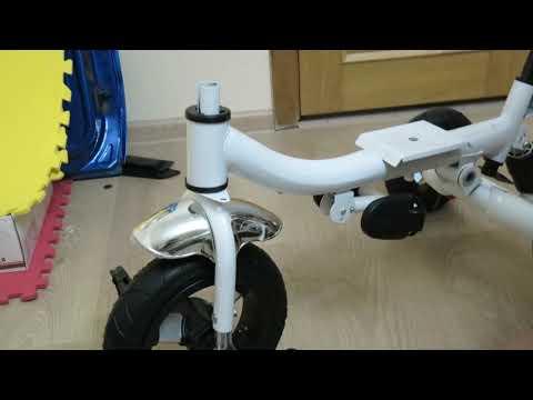 Как собрать трехколесный велосипед  Инструкция