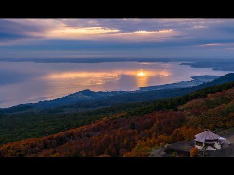 Volcan Osorno - Video Otoño Autumn Osorno Volcano - 4K