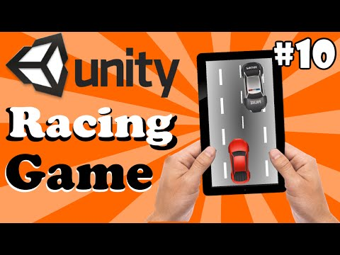 10.Unity Racing Game Development Tutorial-Improve Performance Removing Extra Cars