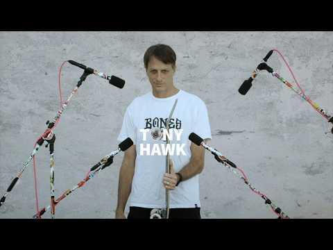 Musik aus dem Sound von Skateboards mit Tony Hawk