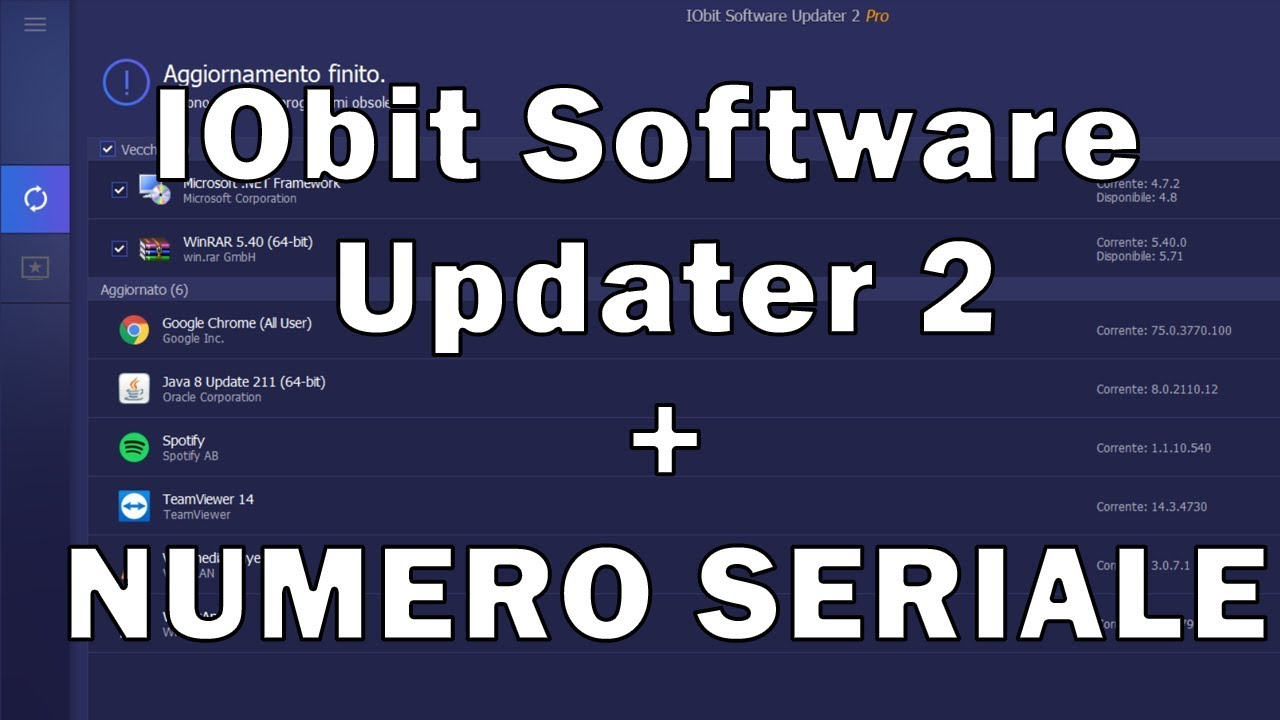 IObit Software Updater 2 + Serial number