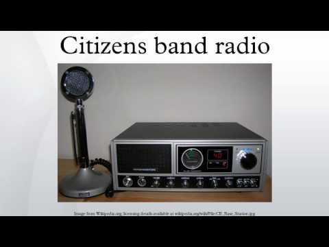 Citizens band radio