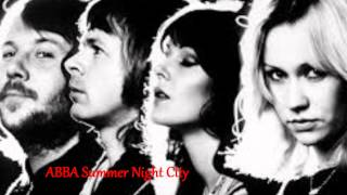 ABBA Summer Night City  -  JRX 2014 Extended Dance Mix