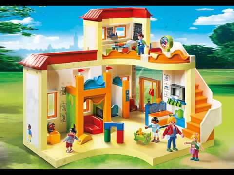 nouveaut s playmobil 2015 th me de la cr che et du jardin d 39 enfants youtube. Black Bedroom Furniture Sets. Home Design Ideas