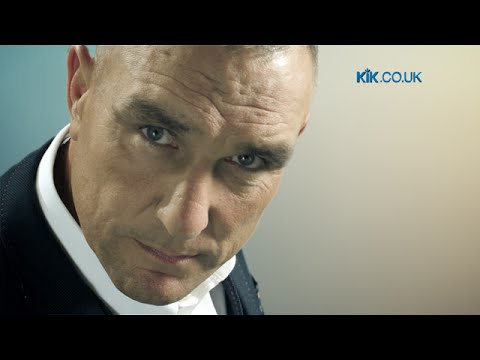 Vinnie Jones KIK Electronic Cigarettes UK ecig Ad v1
