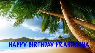 Praharsha   Beaches Playas - Happy Birthday