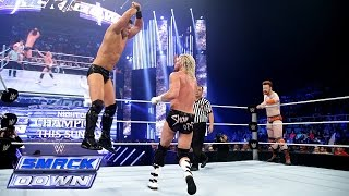 Sheamus & Dolph Ziggler  vs. Cesaro & The Miz: SmackDown, Sept. 19, 2014