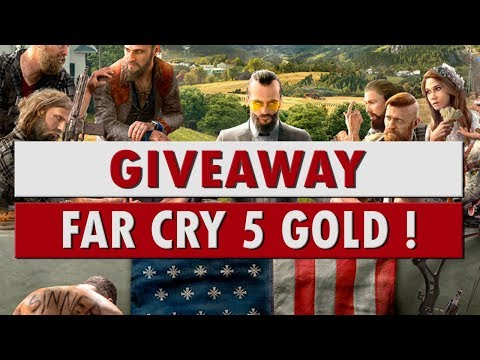 Giveaway Far Cry 5 Edition Gold ! - 동영상
